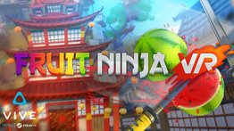 VR Arena game: Fruit Ninja VR